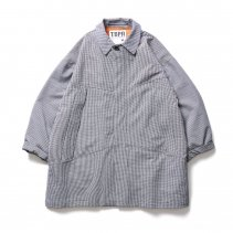 <img class='new_mark_img1' src='https://img.shop-pro.jp/img/new/icons2.gif' style='border:none;display:inline;margin:0px;padding:0px;width:auto;' />-TIGHT BOOTH-  GINGHAM BIG COAT