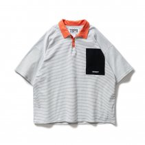 <img class='new_mark_img1' src='https://img.shop-pro.jp/img/new/icons2.gif' style='border:none;display:inline;margin:0px;padding:0px;width:auto;' /> - TIGHT BOOTH - STRIPE POLO SHIRT