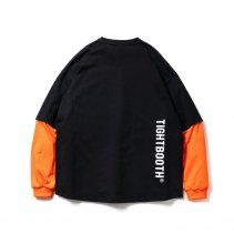 <img class='new_mark_img1' src='https://img.shop-pro.jp/img/new/icons2.gif' style='border:none;display:inline;margin:0px;padding:0px;width:auto;' />-TIGHT BOOTH- LAYERED L/S T-SHIRTS