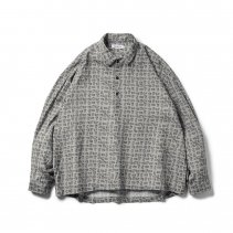 <img class='new_mark_img1' src='https://img.shop-pro.jp/img/new/icons2.gif' style='border:none;display:inline;margin:0px;padding:0px;width:auto;' />-TIGHT BOOTH- MAD COW FOOTPRINT PULLOVER SHIRT