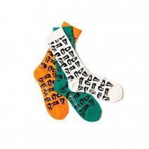 <img class='new_mark_img1' src='https://img.shop-pro.jp/img/new/icons2.gif' style='border:none;display:inline;margin:0px;padding:0px;width:auto;' />-TIGHT BOOTH- MAD COW FOOTPRINT SOCKS (TIGHT BOOTH x WHIMSY SOCKS)