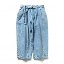 <img class='new_mark_img1' src='https://img.shop-pro.jp/img/new/icons2.gif' style='border:none;display:inline;margin:0px;padding:0px;width:auto;' />- Tightbooth - DENIM BAGGY SLACKS