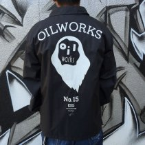 OIL WORKS CORCH JAKET -BLACK
