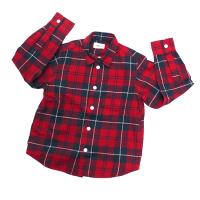 <b>ARCH&LINE</b><br>【秋冬物セール】INDIGO CHECK SHIRT Red<img class='new_mark_img2' src='//img.shop-pro.jp/img/new/icons16.gif' style='border:none;display:inline;margin:0px;padding:0px;width:auto;' />