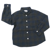 <b>ARCH&LINE</b><br>【秋冬物セール】INDIGO CHECK SHIRT Gray<img class='new_mark_img2' src='//img.shop-pro.jp/img/new/icons16.gif' style='border:none;display:inline;margin:0px;padding:0px;width:auto;' />