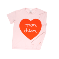 <b>tinycottons</b></br>【春夏物セール】mon chlen heart SS oversized gr tee