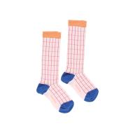 <b>tinycottons</b></br>【春夏物セール】grid high socks