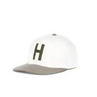 <b>Herschel</b></br>OUTFIELD YOUTH CAP</br>NATURAL/DEEP LICHEN GREEN