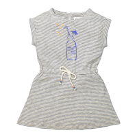 <b>BONHEUR DU JOUR</b><br>【春夏物セール】COCO girl dress / STRIPES