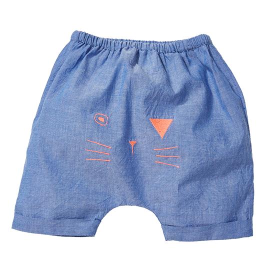 BONHEUR DU JOUR【春夏物セール】MAEL Baby pant/ BLUE