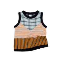 <b>tinycottons</b></br>【17A/W セール】lines&grid kint vest<img class='new_mark_img2' src='https://img.shop-pro.jp/img/new/icons16.gif' style='border:none;display:inline;margin:0px;padding:0px;width:auto;' />