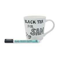 <b>eat sleep doodle</b><br>doodle mug with ceramic pen