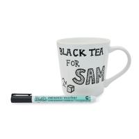 <b>eat sleep doodle</b><br>doodle mug with ceramic pen
