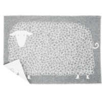 <b>LAPUAN KANKURIT</b><br>LAMMAS / blanket</br>grey-white