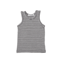 <b>MINGO.</b></br>18ss Singlet </br>Black / White stripes<img class='new_mark_img2' src='https://img.shop-pro.jp/img/new/icons18.gif' style='border:none;display:inline;margin:0px;padding:0px;width:auto;' />
