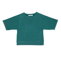 <b>MINGO.</b></br>Cropped sweater<br>Rain forest green<img class='new_mark_img2' src='//img.shop-pro.jp/img/new/icons18.gif' style='border:none;display:inline;margin:0px;padding:0px;width:auto;' />