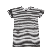 <b>MINGO.</b></br>19ss T-shirt dress</br>Stripe Black/White, Jersey<img class='new_mark_img2' src='https://img.shop-pro.jp/img/new/icons1.gif' style='border:none;display:inline;margin:0px;padding:0px;width:auto;' />