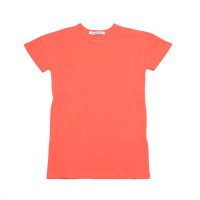 <b>MINGO.</b></br>18ss Cropped sweater</br>T-shirt dress Deep sea coral<img class='new_mark_img2' src='https://img.shop-pro.jp/img/new/icons18.gif' style='border:none;display:inline;margin:0px;padding:0px;width:auto;' />
