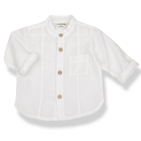 <b>1+in the family</b></br>MAURO shirt</br>off-white<img class='new_mark_img2' src='//img.shop-pro.jp/img/new/icons2.gif' style='border:none;display:inline;margin:0px;padding:0px;width:auto;' />