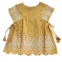 <b>Louise Misha</b></br>Dress Nouchka Safran<img class='new_mark_img2' src='//img.shop-pro.jp/img/new/icons18.gif' style='border:none;display:inline;margin:0px;padding:0px;width:auto;' />