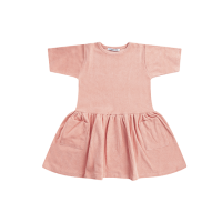 <b>MINGO.</b></br>19ss  Dress</br>Peach Pink, Terry<img class='new_mark_img2' src='https://img.shop-pro.jp/img/new/icons18.gif' style='border:none;display:inline;margin:0px;padding:0px;width:auto;' />