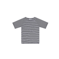 <b>MINGO.</b></br>19ss T-Shirt</br>Stripe Black/White, Jersey