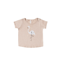 <b>Rylee+Cru</b></br>19ss flamingo basic tee</br>blush