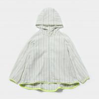 <b>MOUN TEN.</b></br> 20ss chiffon stripe hoodie<br>green