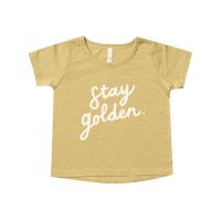 <b>Rylee+Cru</b><br>20ss stay golden basic tee