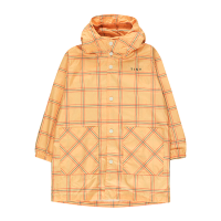 <b>tinycottons</b></br> 20ss CHECK RAINCOAT<br>yellow/red