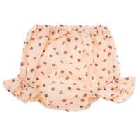 <b>tocoto vintage</b><br>20ss Strawberry print bloomer with ruffles<br>SALMON<img class='new_mark_img2' src='https://img.shop-pro.jp/img/new/icons1.gif' style='border:none;display:inline;margin:0px;padding:0px;width:auto;' />