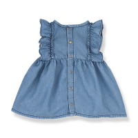 <b>1+in the family</b></br>20ss MENORCA dress<br>denim<img class='new_mark_img2' src='https://img.shop-pro.jp/img/new/icons1.gif' style='border:none;display:inline;margin:0px;padding:0px;width:auto;' />