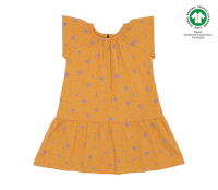 <b>soft gallery</b><br>20ss Lexie Dress<br>Sunflower, AOP Clover