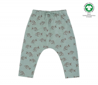 <b>soft gallery</b><br>20ss Hailey Pants<br>Jadeite, AOP Fish