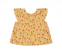 <b>soft gallery</b><br>20ss Dyvia Top<br>Golden Apricot, AOP Buttercup
