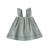 <b>QUINCY MAE</b><br>20ss Ruffled Tube Dress<br>ocean