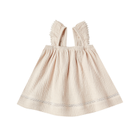 <b>QUINCY MAE</b><br>20ss Ruffled Tube Dress<br>natural