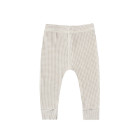 <b>QUINCY MAE</b><br>20ss Ribbed Legging<br>fog stripe