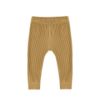 <b>QUINCY MAE</b><br>20ss Ribbed Legging<br>ocre