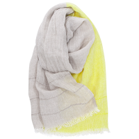 <b>LAPUAN KANKURIT</b><br>20ss TSAVO scarf 70x200cm<br>6/linen-yellow<img class='new_mark_img2' src='https://img.shop-pro.jp/img/new/icons1.gif' style='border:none;display:inline;margin:0px;padding:0px;width:auto;' />