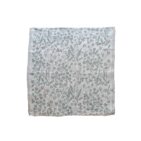 <b>LAPUAN KANKURIT</b><br>20ss NIITTY multi-use cloth 48x48cm<br>white-aspen green