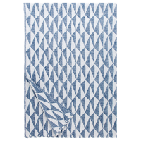 <b>LAPUAN KANKURIT</b><br>20ss TRIANO linen blanket 140x200cm<br>5/white-blueberry<img class='new_mark_img2' src='https://img.shop-pro.jp/img/new/icons1.gif' style='border:none;display:inline;margin:0px;padding:0px;width:auto;' />