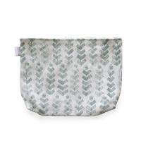 <b>LAPUAN KANKURIT</b><br>20ss RUUSU pouch (linen-cotton) 28x22cm<br>4/white-aspen green