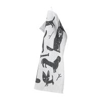 <b>LAPUAN KANKURIT</b><br>20ss KOIRAPUISTO towel 35x50cm<br>69/white-black