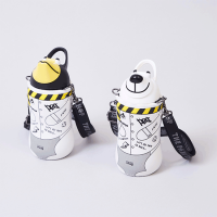 "<b>THE PARK SHOP</b></br>20ss thermo mug×THE PARKSHOP""ANIMAL BOTTLE""<br>Black/White<img class='new_mark_img2' src='https://img.shop-pro.jp/img/new/icons1.gif' style='border:none;display:inline;margin:0px;padding:0px;width:auto;' />"