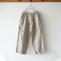 <b>ichi</b><br>20ss Linen Wide Pants<br>NATURAL / BLACK<img class='new_mark_img2' src='https://img.shop-pro.jp/img/new/icons1.gif' style='border:none;display:inline;margin:0px;padding:0px;width:auto;' />