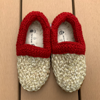 <b>CORR THE JUTE WORKS</b><br>20ss NEW BABY SHOES <br>Red Wool