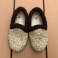 <b>CORR THE JUTE WORKS</b><br>20ss NEW BABY SHOES <br>Brown Wool