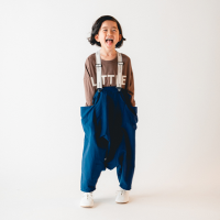 <b>nunuforme</b><br>20aw サルエルサロペット<br>Blue<img class='new_mark_img2' src='https://img.shop-pro.jp/img/new/icons1.gif' style='border:none;display:inline;margin:0px;padding:0px;width:auto;' />