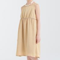 <b>ARCH&LINE</b></br>20aw SATAIN GATHER DRESS</br>#099